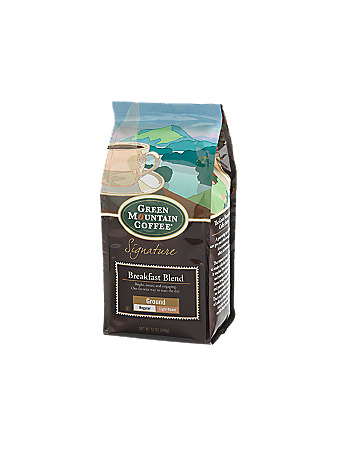 Breakfast Blend Ground Coffee Bag